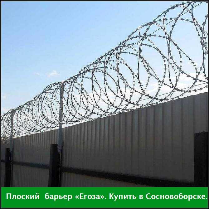 Купить плоский барьер «Егоза» в Сосновоборске